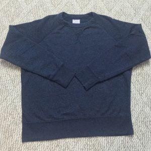 Navy Blue Champion Crewneck Sweatshirt Small